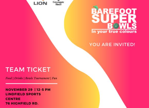 Barefoot Super Bowl - Team Ticket