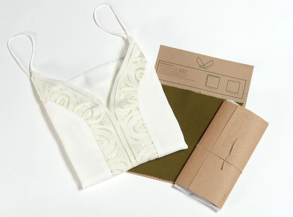 Une pièce mode responsable et un kit de confection de masque lavable hokko