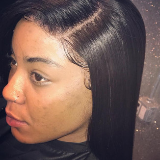 Lace Closure Install With Press To Finish