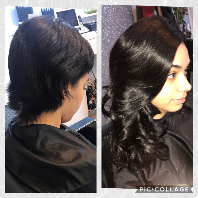 Short Hair Transformation With Lace Closure Install