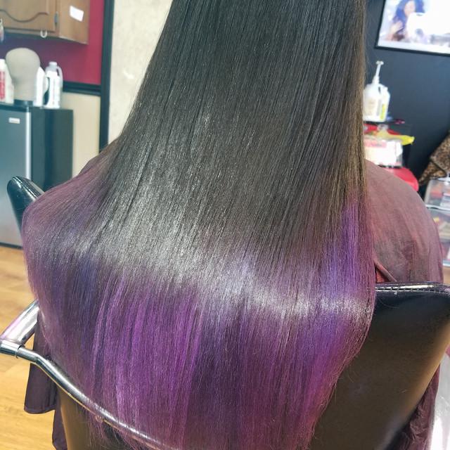 Custom Purple Ombré