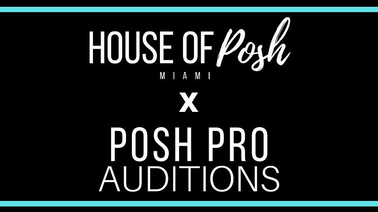 Posh Pro Auditions | 11/20 9:30AM