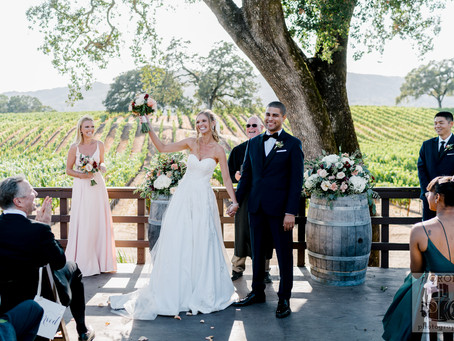 Kelsey & Atticus - BR Cohn Winery Wedding