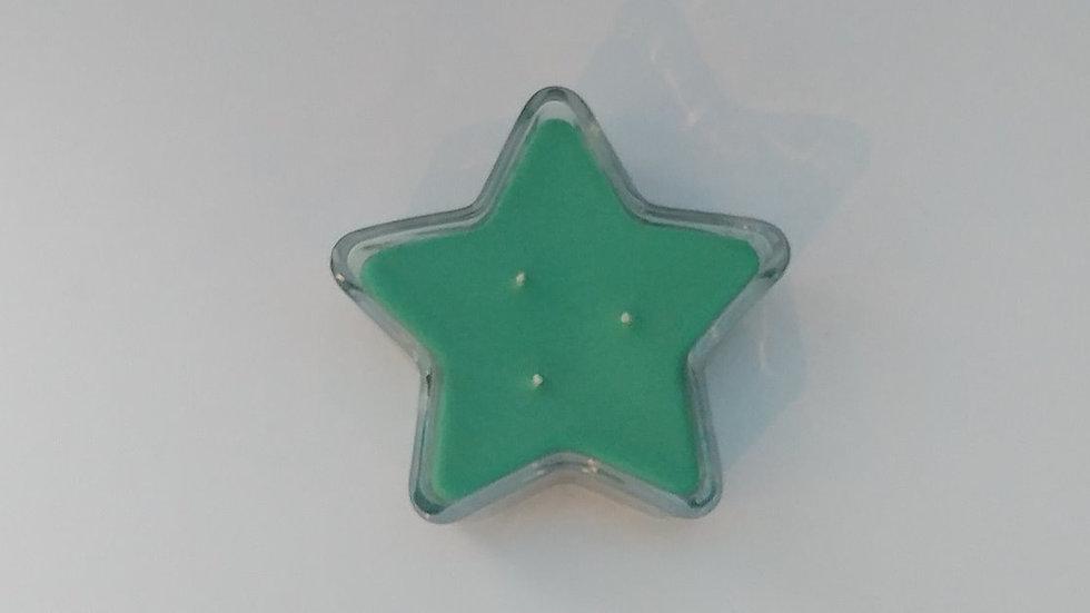 Star Glass Jar