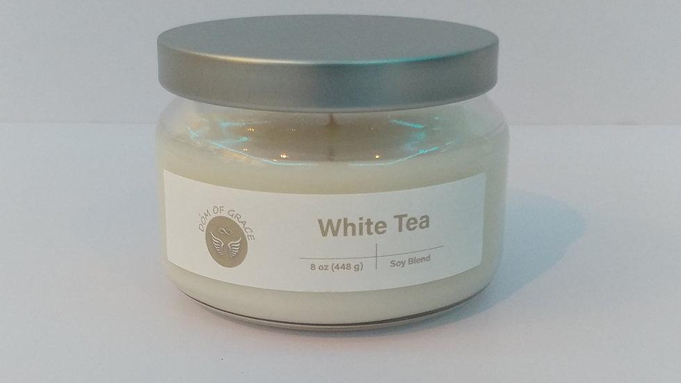 8 oz. Round Jar - White Tea