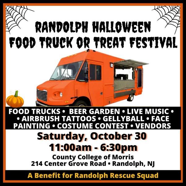 Randolph Halloween Food Truck or Treat Festival