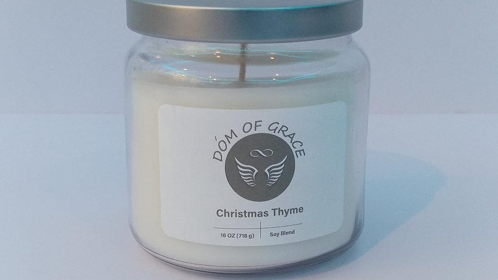 16 oz. Jar - Christmas Thyme