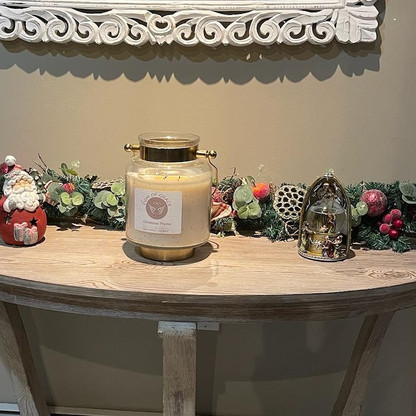 Another Happy Customer enjoying our Lantern of Christmas Thyme