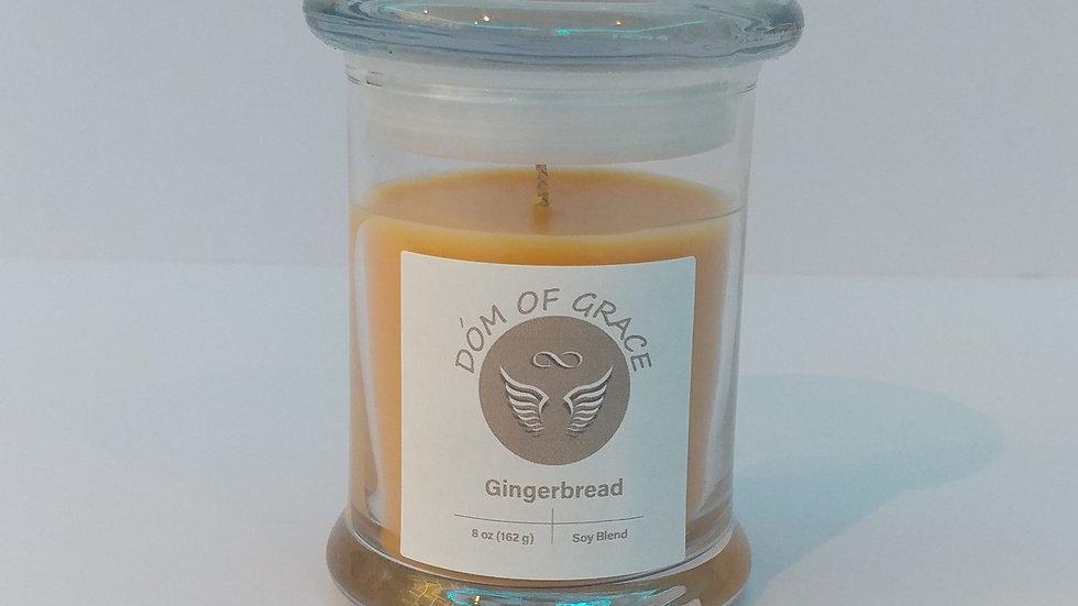 8 oz. Modern Jar - Gingerbread
