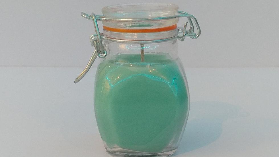 Jam Jar w/ Orange Ring Lid