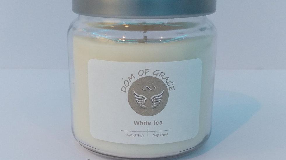 16 oz. Jar - White Tea