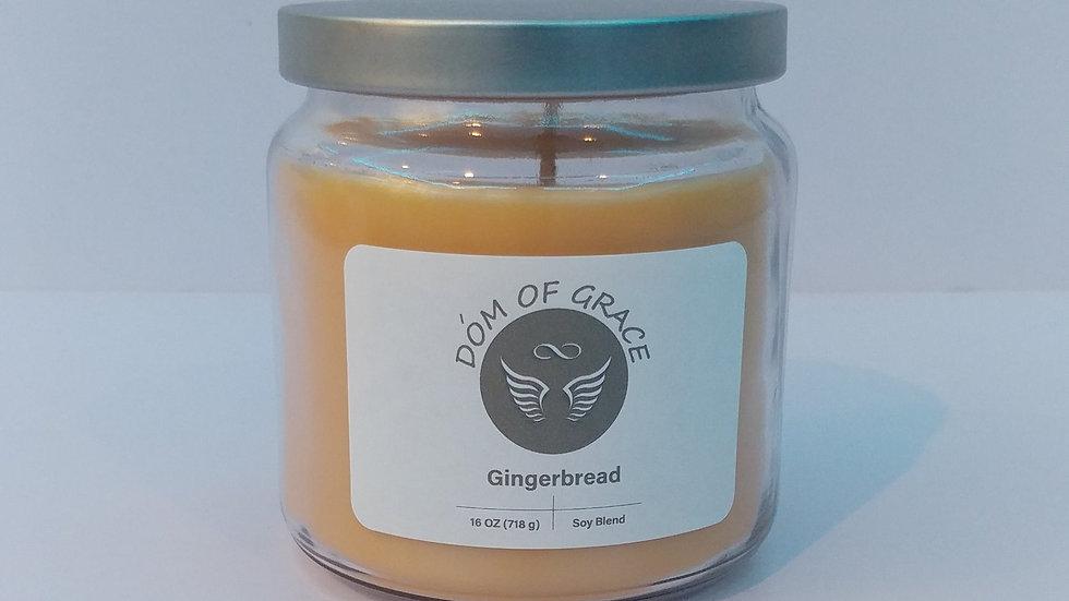 16 oz. Jar - Gingerbread