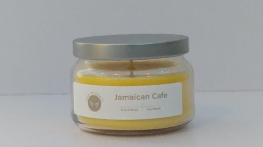 8 oz. Round Jar - Jamaican Cafe