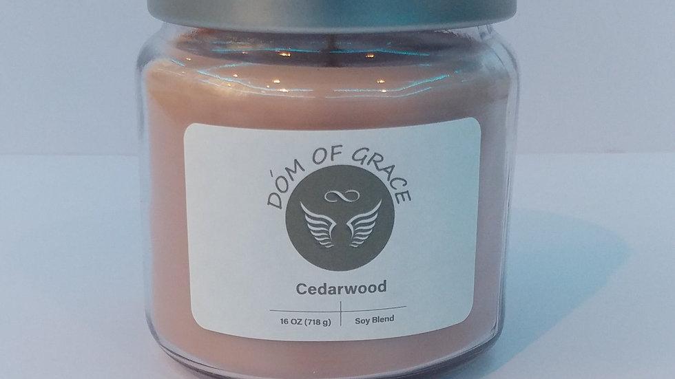 16 oz. Jar - Cedarwood