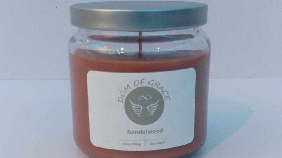 16 oz. Jar - Sandalwood