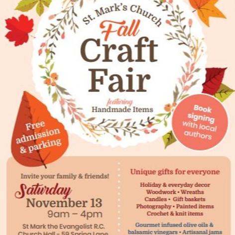 St. Mark's Church Fall Craft Fair