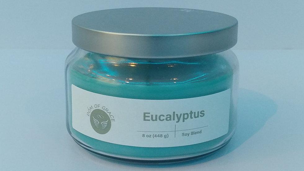 8 oz. Round Jar - Eucalyptus