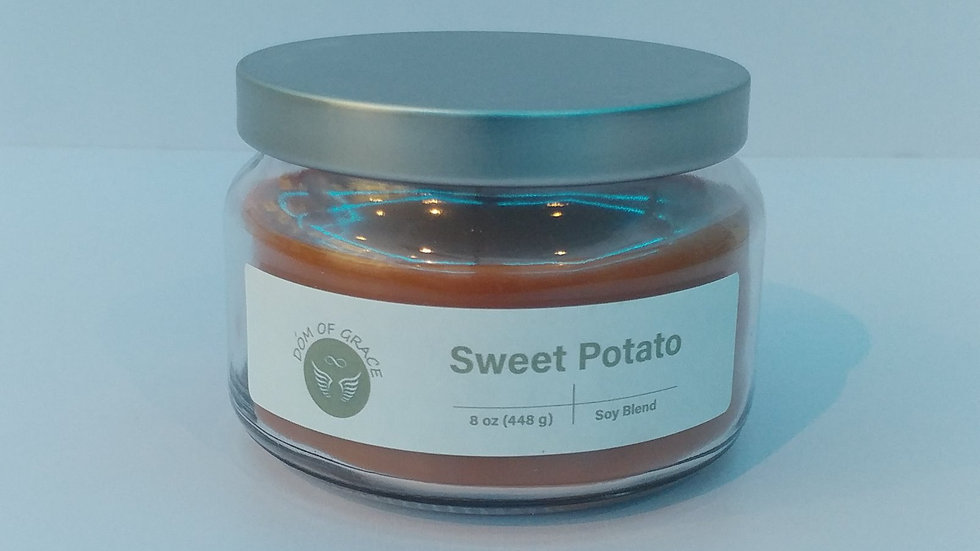 8 oz. Round Jar - Sweet Potato
