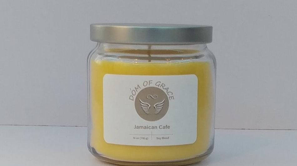 16 oz. Jar - Jamaican Cafe