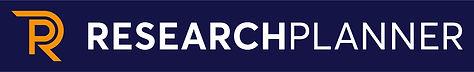 logo_researchplanner_horisontal_blå_rgb.