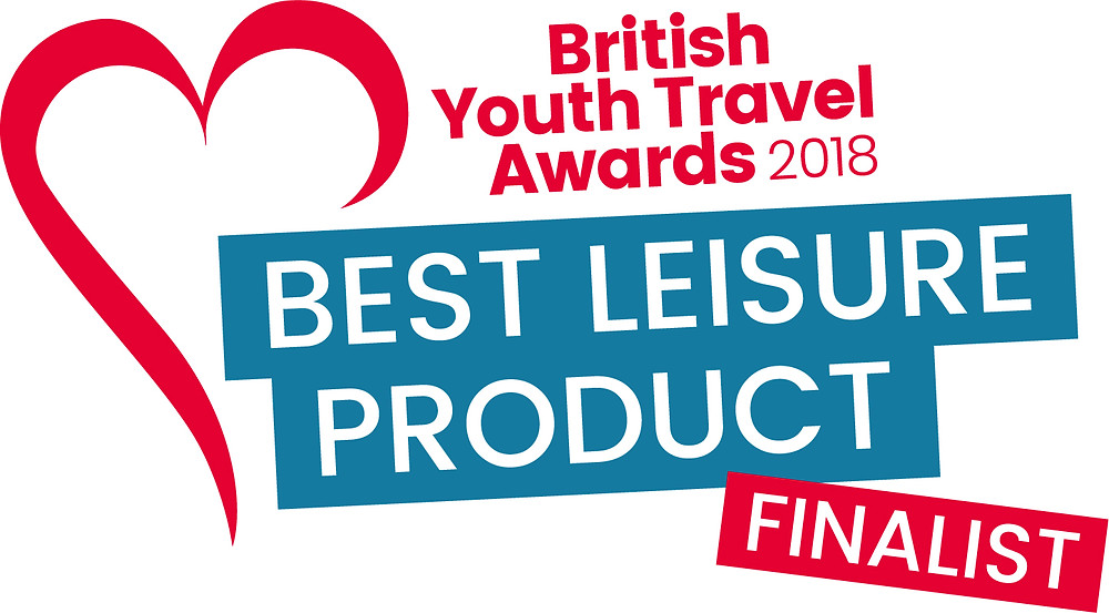 Global treasure Apps wins the British Youth Travel Award, Best Leisure Product  2018