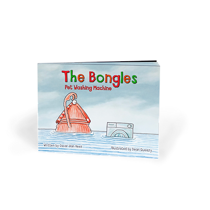Pet Washing Machine Book - The Bongles