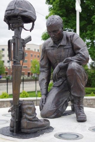 Battle Cross -Roselle Veterans Memorial