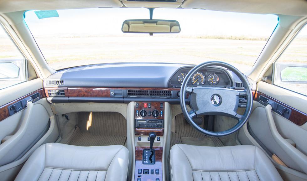 W126 420SEL E3TGW For Sale London-26.jpg