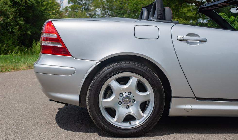 R170 SLK 230 Silver LJ51 RTY For sale-20