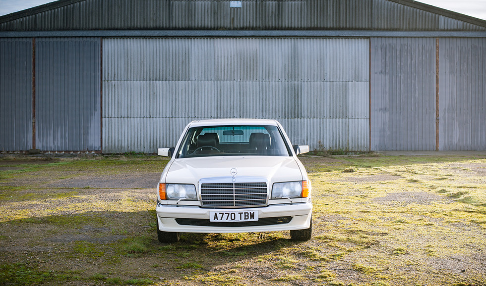 W126 Cream 500SEL for sale uk-2.jpg