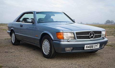 Mercedes 560SEC For Sale UK London  (67