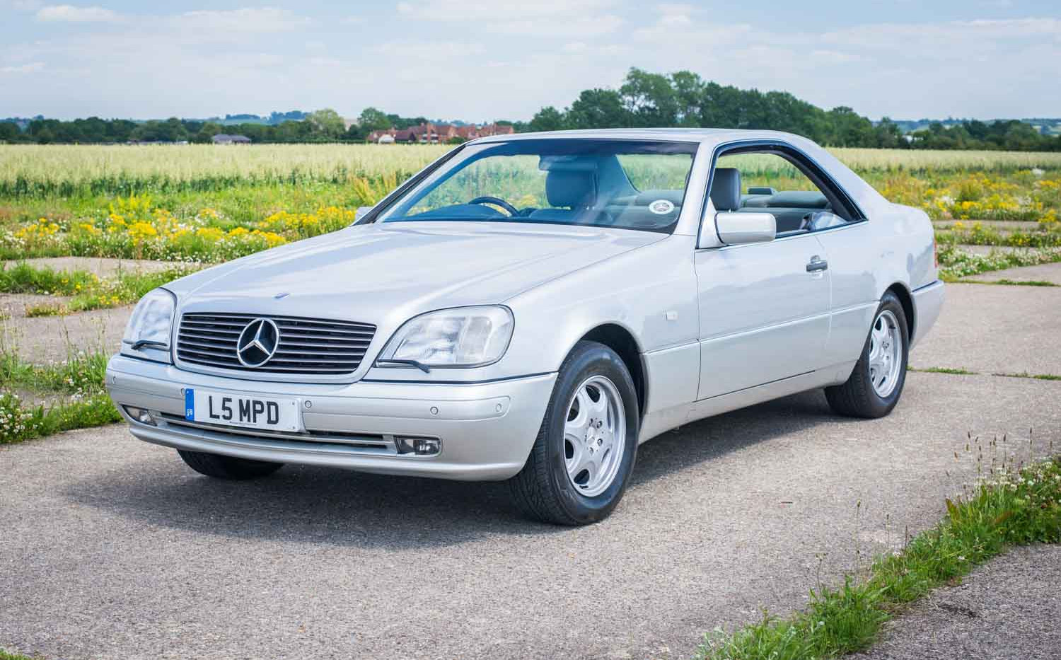 1998 Mercedes-Benz W140 CL420 for sale-3