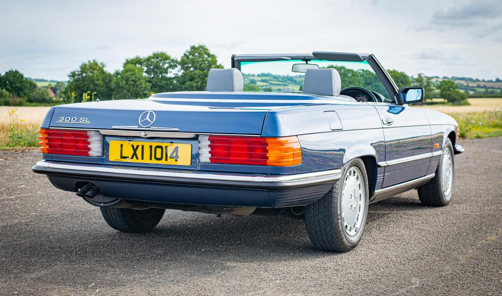 300SL 107 Blue for sale Uk london-16.jpg