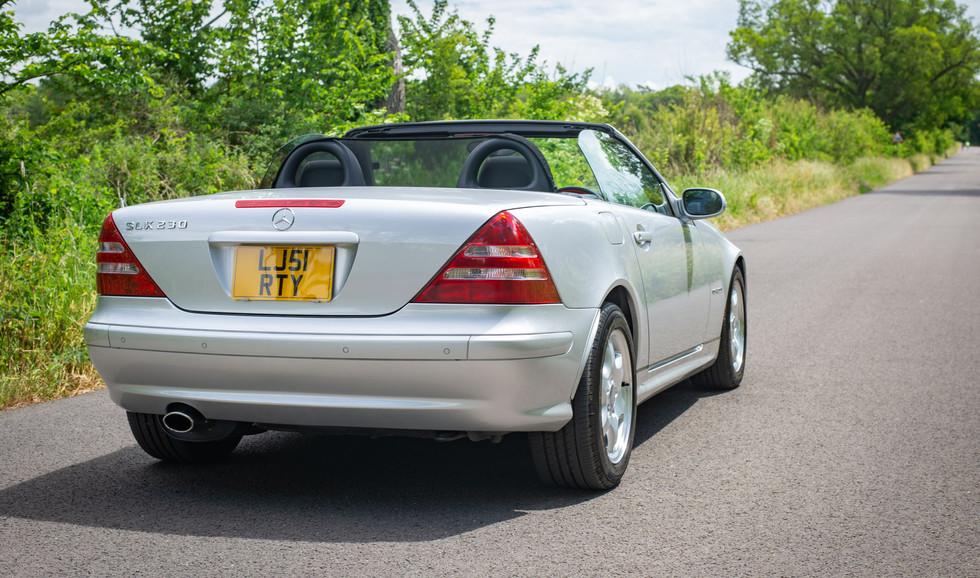 R170 SLK 230 Silver LJ51 RTY For sale-8.