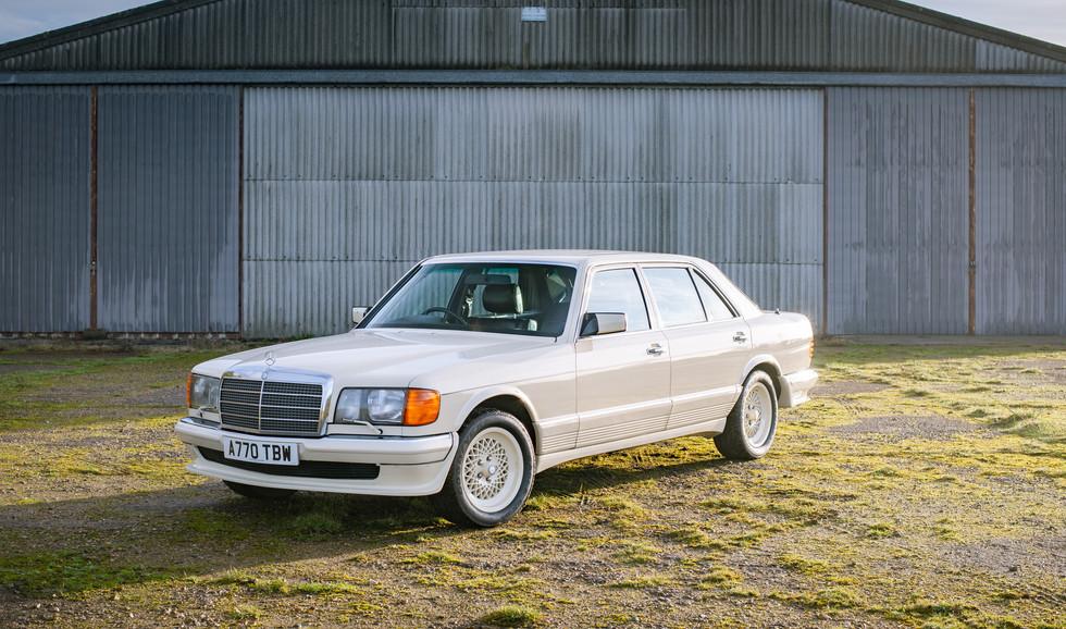 W126 Cream 500SEL for sale uk-3.jpg