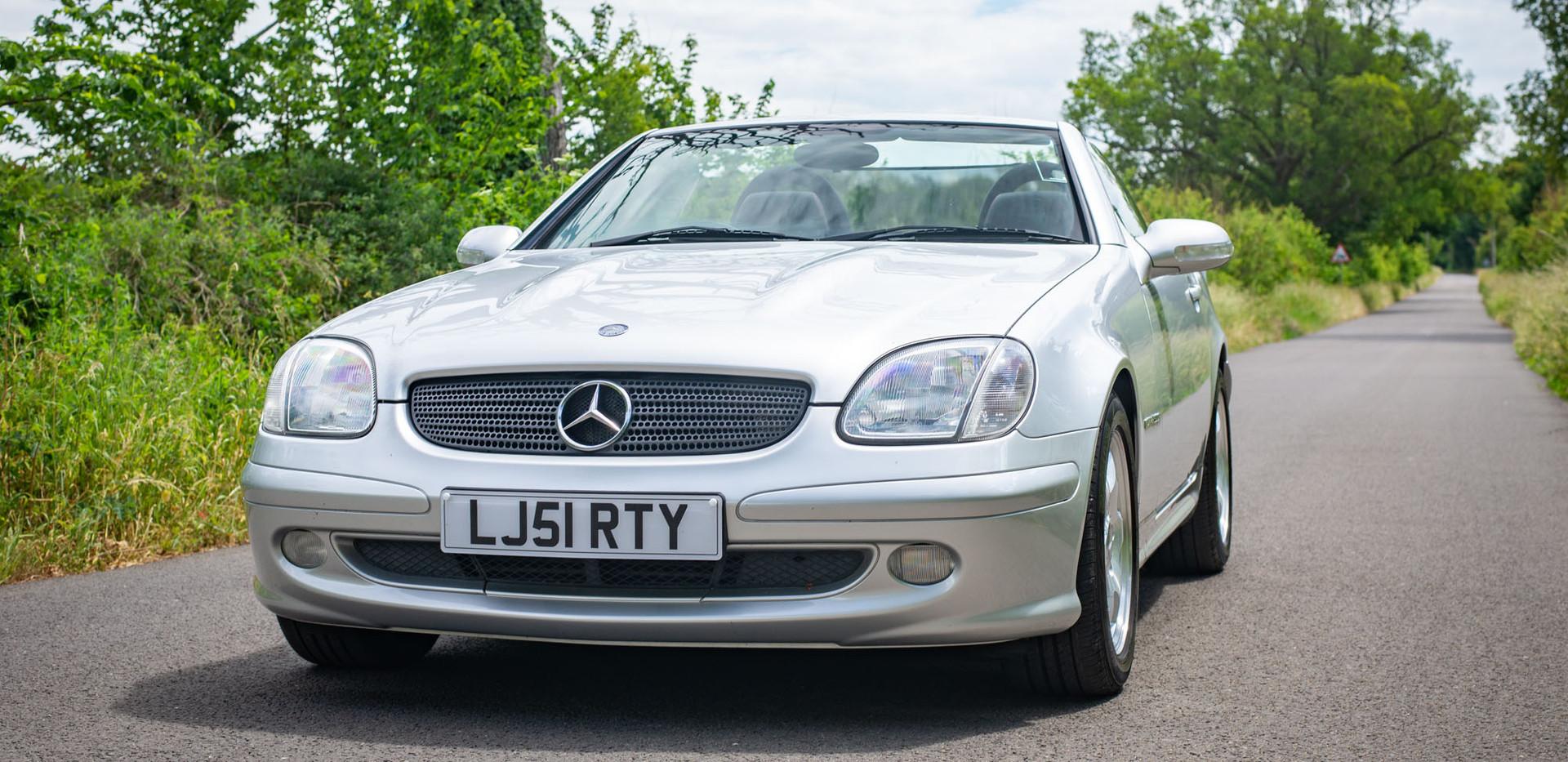 R170 SLK 230 Silver LJ51 RTY For sale-3.