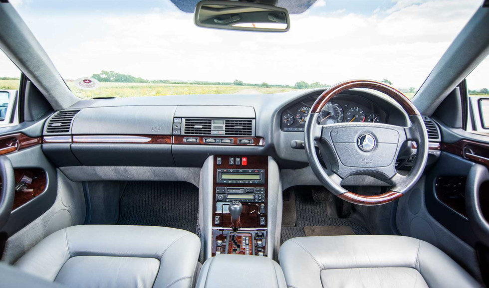 1998 Mercedes-Benz W140 CL420 for sale-1
