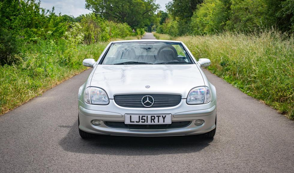 R170 SLK 230 Silver LJ51 RTY For sale-1.