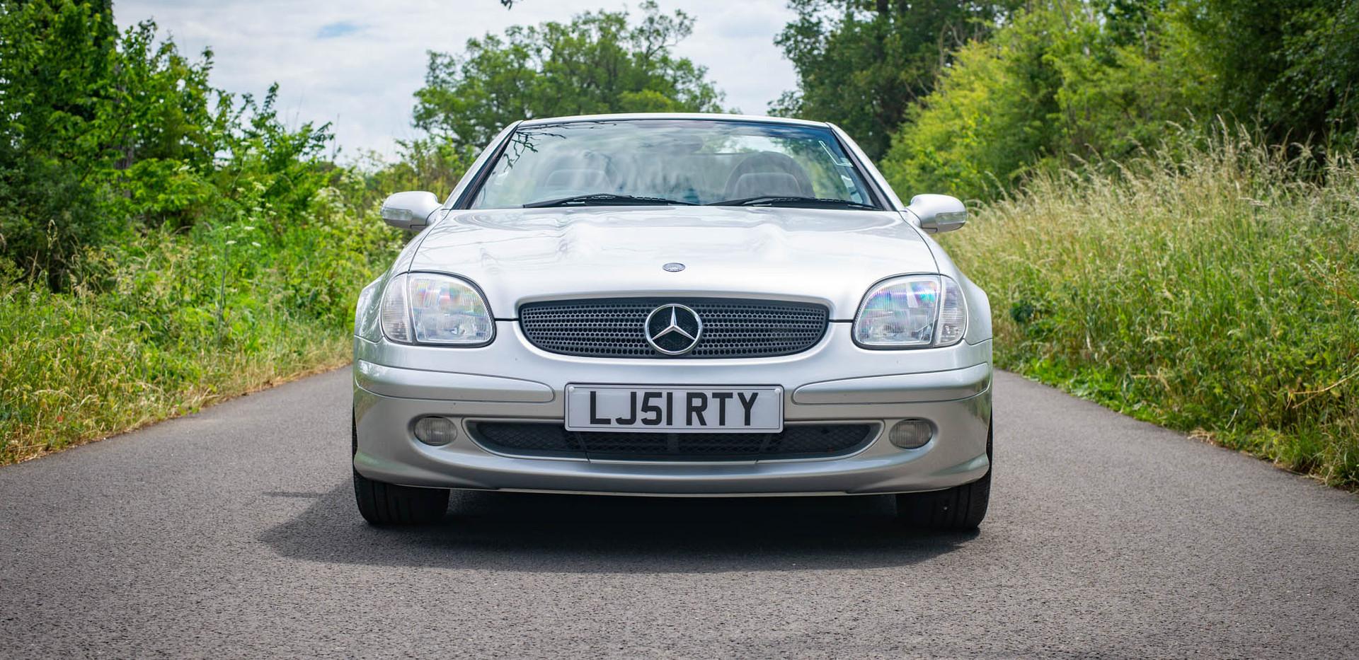 R170 SLK 230 Silver LJ51 RTY For sale-2.