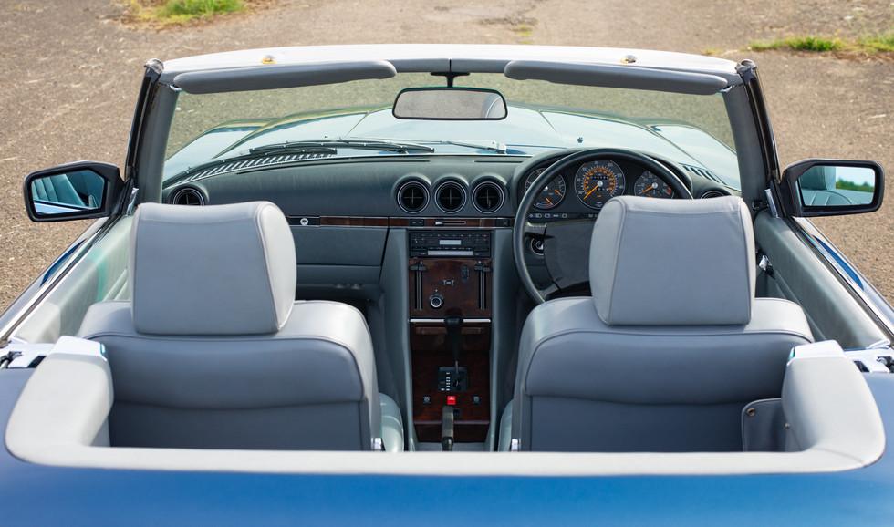 300SL 107 Blue for sale Uk london-31.jpg