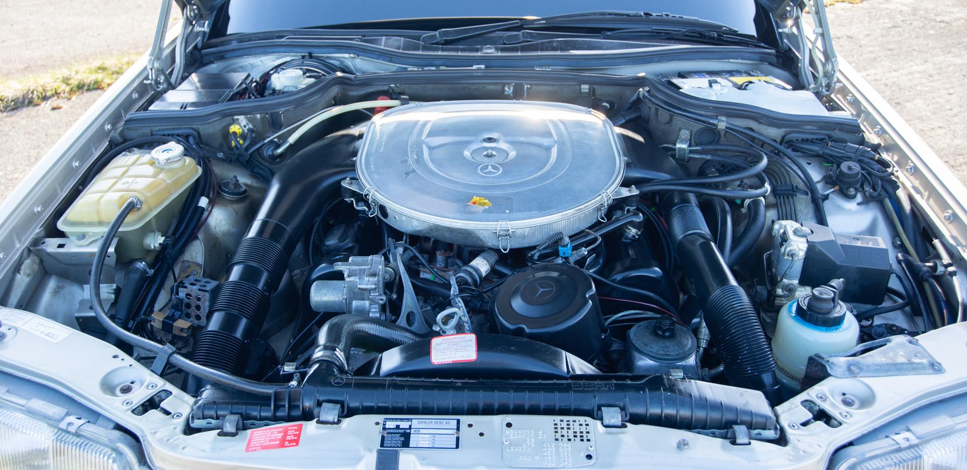 W126 420SEL E3TGW For Sale London-30.jpg