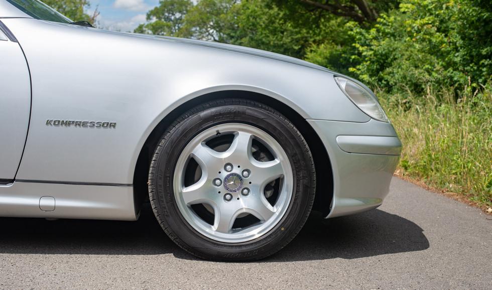 R170 SLK 230 Silver LJ51 RTY For sale-19