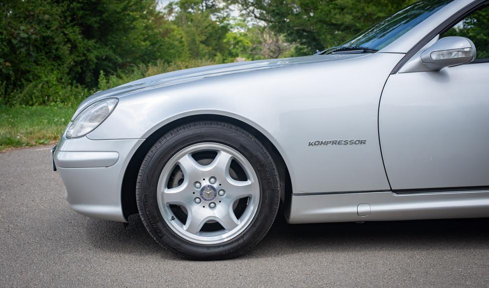 R170 SLK 230 Silver LJ51 RTY For sale-29