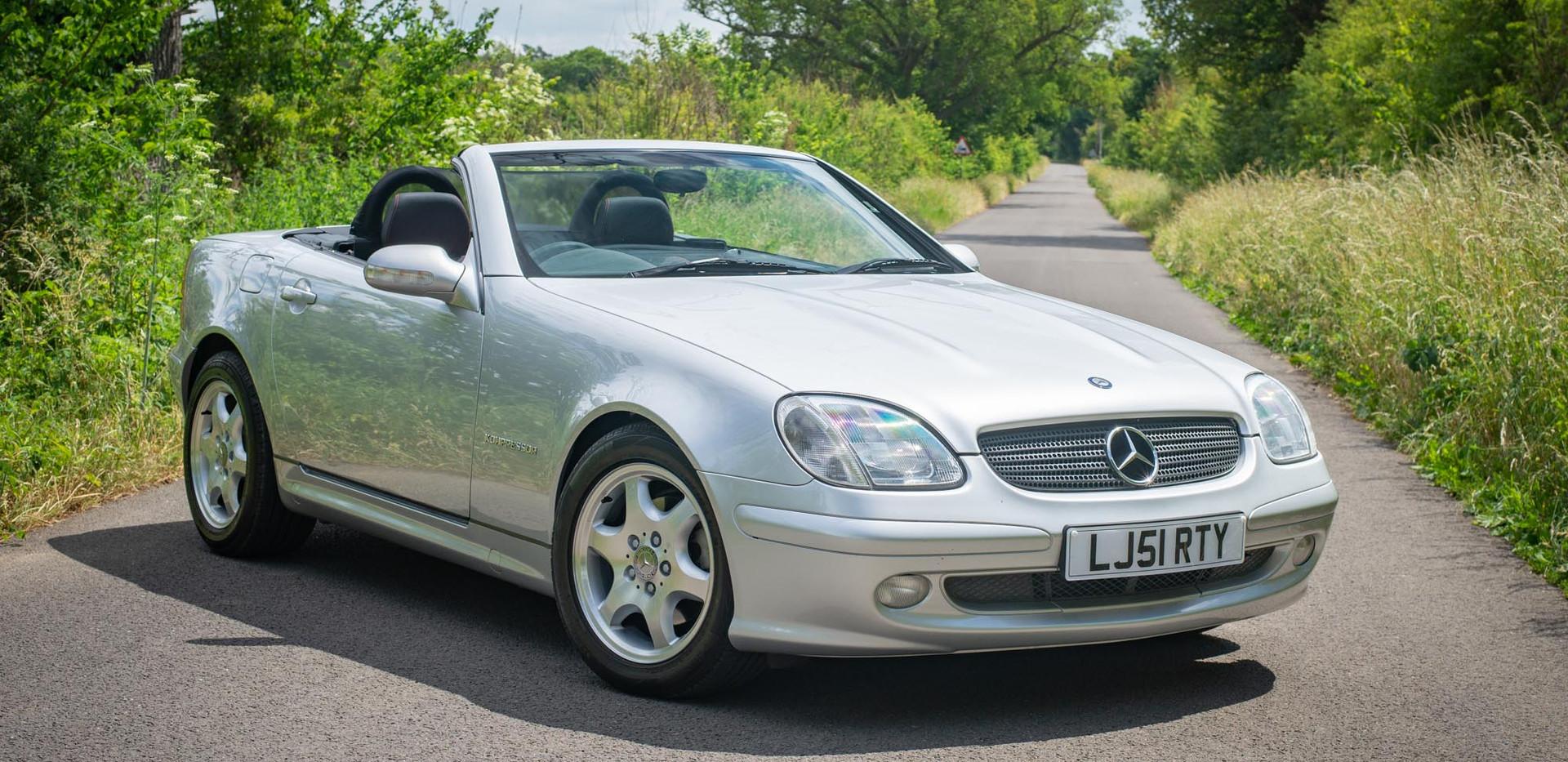 R170 SLK 230 Silver LJ51 RTY For sale-17