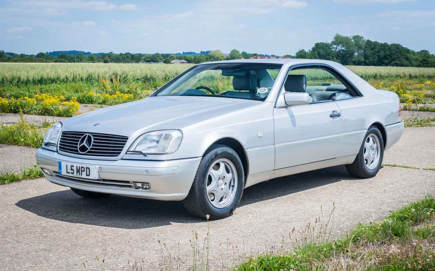 1998 Mercedes-Benz W140 CL420 for sale-4
