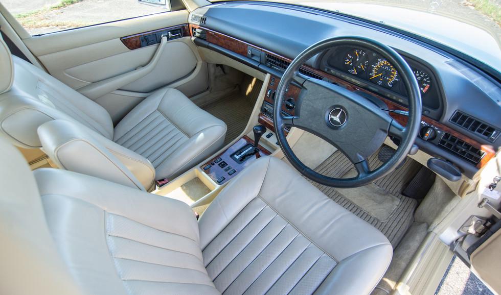 W126 420SEL E3TGW For Sale London-21.jpg