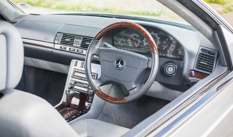 1998 Mercedes-Benz W140 CL420 for sale-7