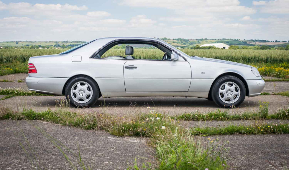 1998 Mercedes-Benz W140 CL420 for sale-2