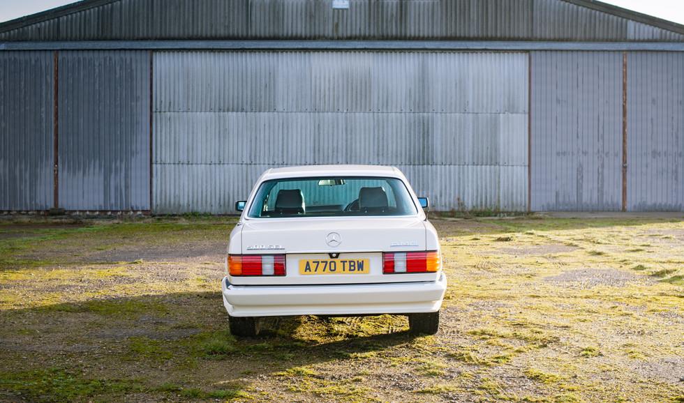W126 Cream 500SEL for sale uk-6.jpg
