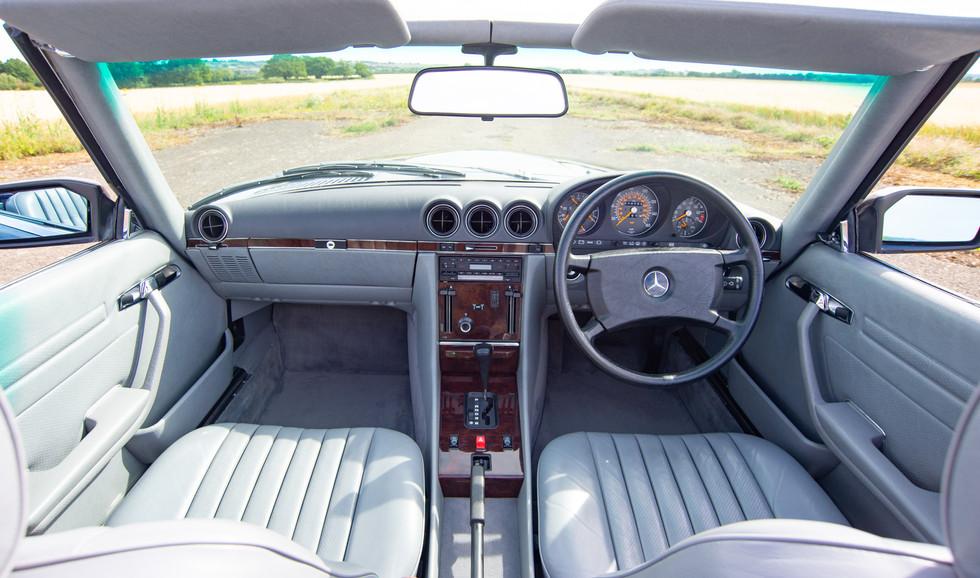 300SL 107 Blue for sale Uk london-32.jpg